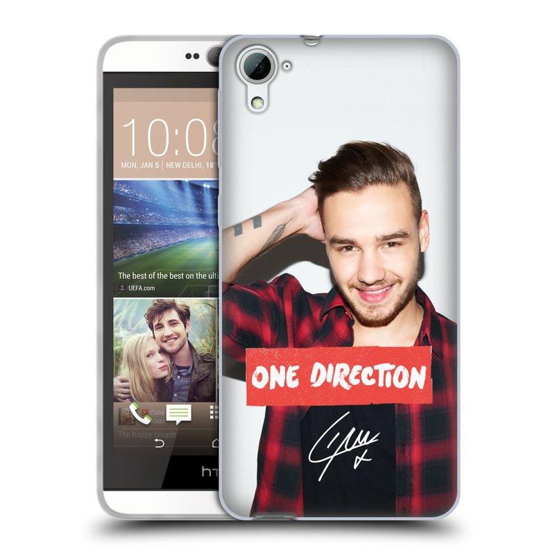 Silikonové pouzdro na mobil HTC Desire 826 HEAD CASE One Direction - Liam (Silikonový kryt či obal One Direction Official na mobilní telefon HTC Desire 826 Dual SIM)