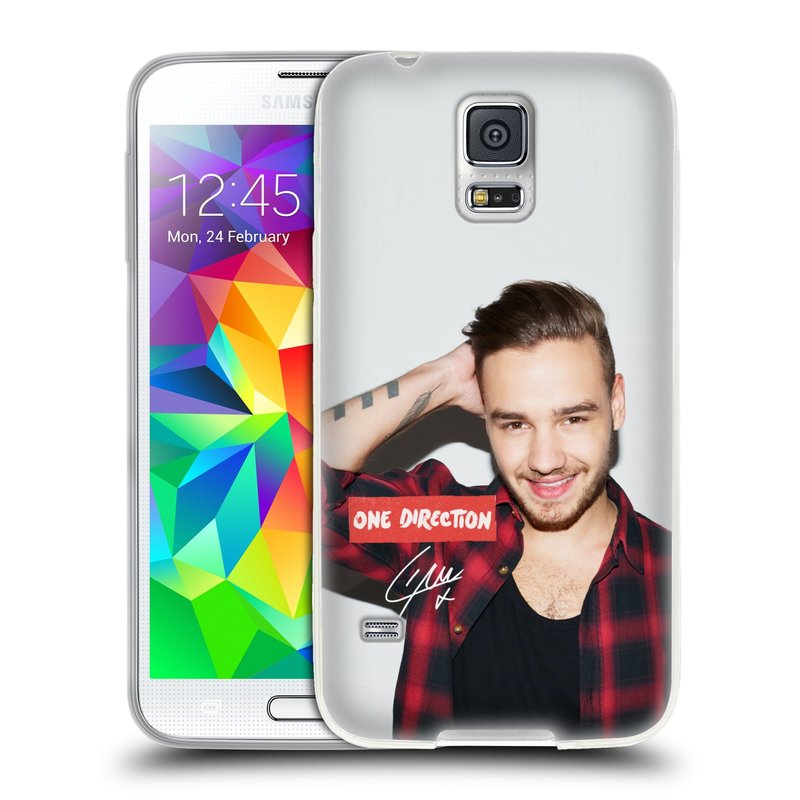 Silikonové pouzdro na mobil Samsung Galaxy S5 HEAD CASE One Direction - Liam (Silikonový kryt či obal One Direction Official na mobilní telefon Samsung Galaxy S5 SM-G900F)