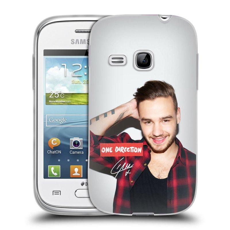 Silikonové pouzdro na mobil Samsung Galaxy Young HEAD CASE One Direction - Liam (Silikonový kryt či obal One Direction Official na mobilní telefon Samsung Galaxy Young GT-S6310)