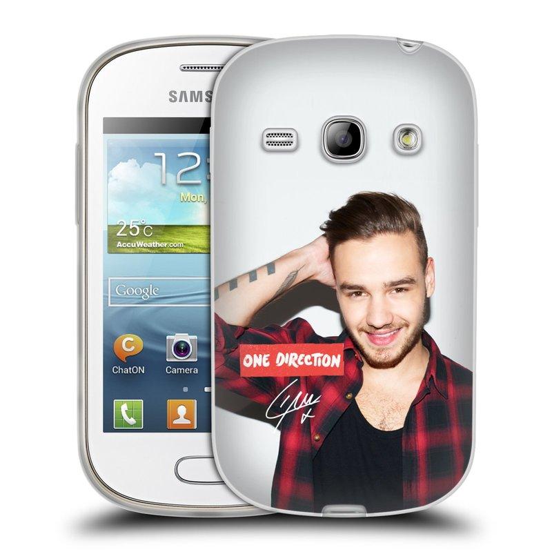 Silikonové pouzdro na mobil Samsung Galaxy Fame HEAD CASE One Direction - Liam (Silikonový kryt či obal One Direction Official na mobilní telefon Samsung Galaxy Fame GT-S6810)