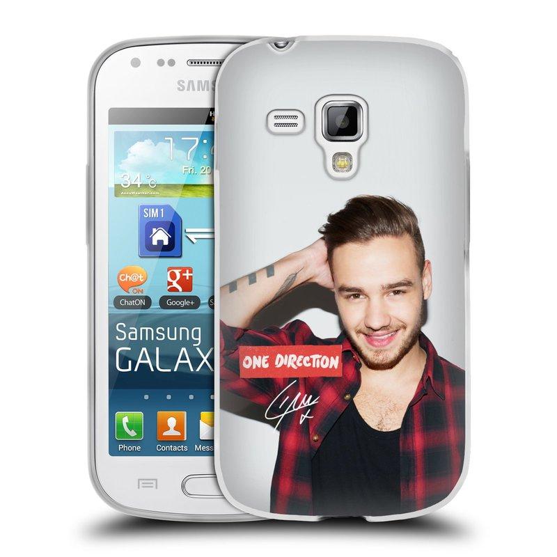 Silikonové pouzdro na mobil Samsung Galaxy Trend HEAD CASE One Direction - Liam (Silikonový kryt či obal One Direction Official na mobilní telefon Samsung Galaxy Trend GT-S7560)