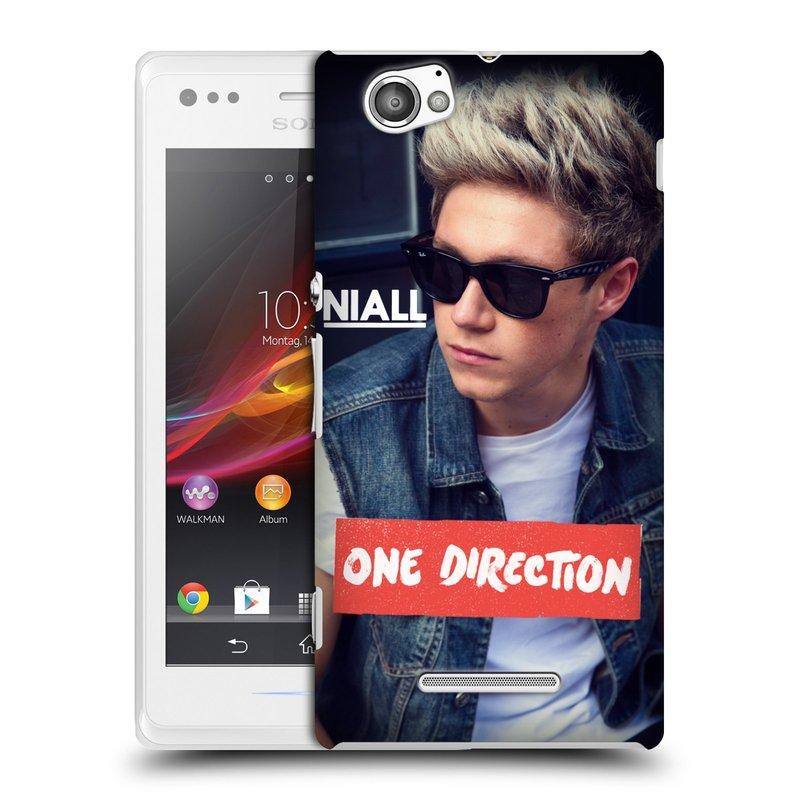 Plastové pouzdro na mobil Sony Xperia M C1905 HEAD CASE One Direction - Niall (Kryt či obal One Direction Official na mobilní telefon Sony Xperia M )