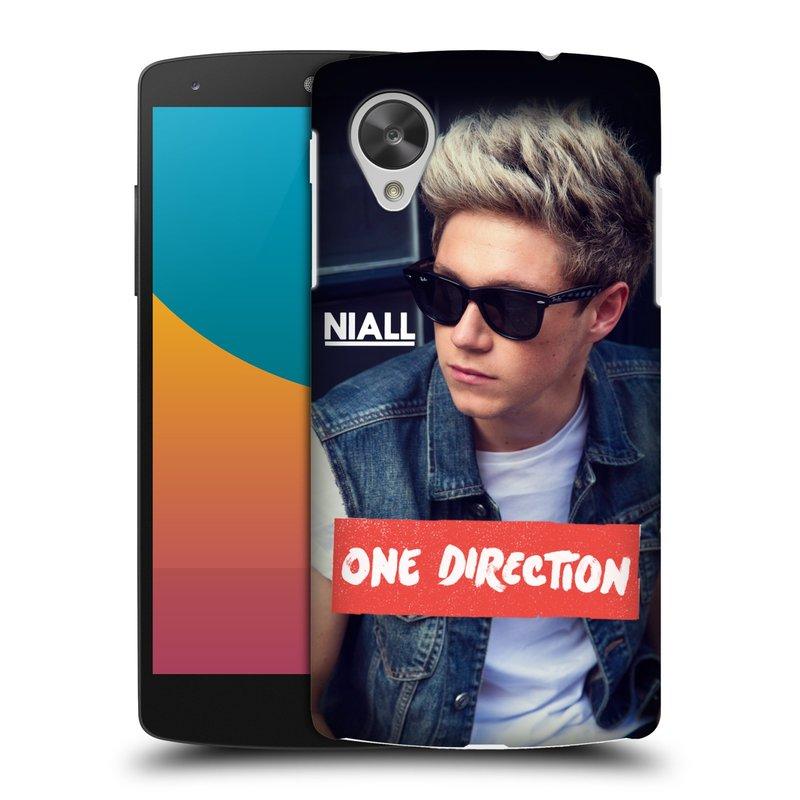 Plastové pouzdro na mobil LG Nexus 5 HEAD CASE One Direction - Niall (Kryt či obal One Direction Official na mobilní telefon LG Google Nexus 5 D821)
