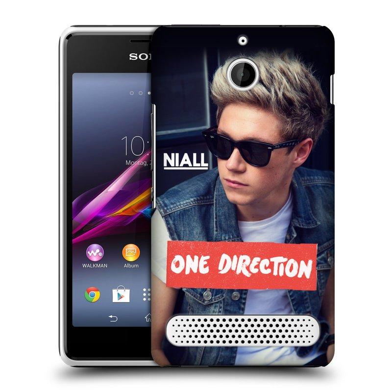 Plastové pouzdro na mobil Sony Xperia E1 D2005 HEAD CASE One Direction - Niall (Kryt či obal One Direction Official na mobilní telefon Sony Xperia E1 a E1 Dual)