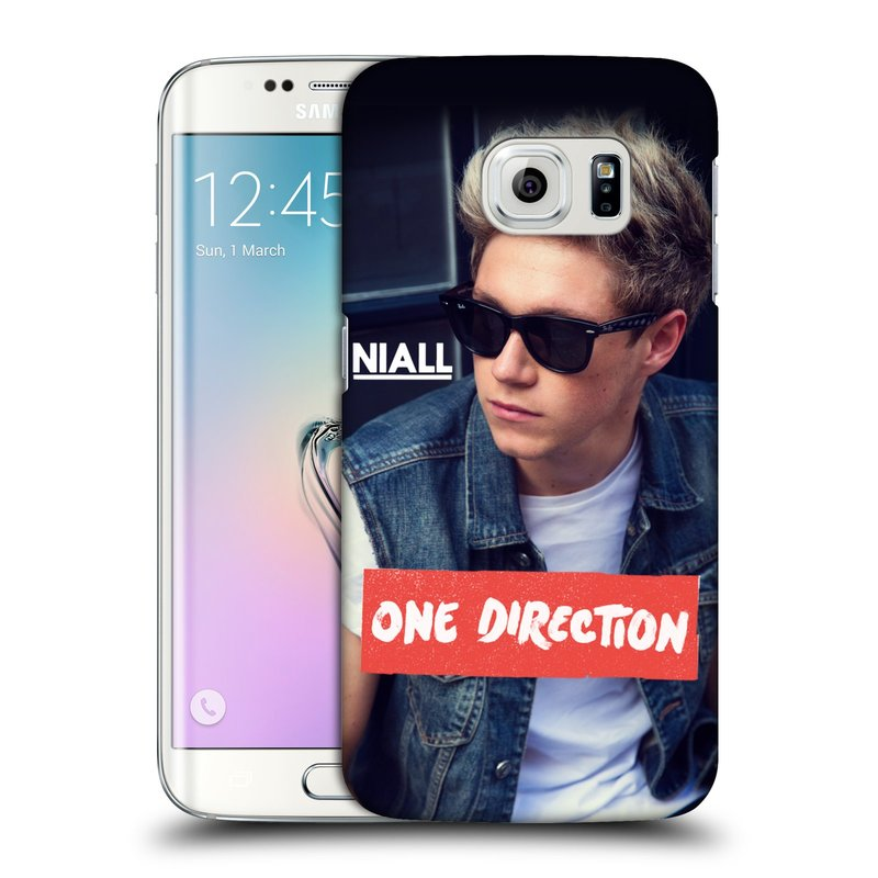 Plastové pouzdro na mobil Samsung Galaxy S6 Edge HEAD CASE One Direction - Niall (Kryt či obal One Direction Official na mobilní telefon Samsung Galaxy S6 Edge SM-G925F)