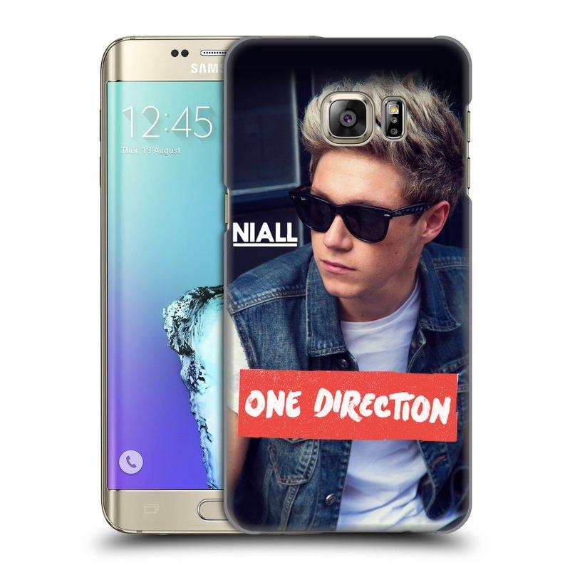 Plastové pouzdro na mobil Samsung Galaxy S6 Edge Plus HEAD CASE One Direction - Niall (Kryt či obal One Direction Official na mobilní telefon Samsung Galaxy S6 Edge Plus SM-G928F)