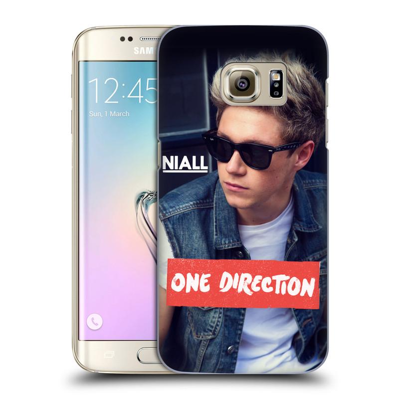 Plastové pouzdro na mobil Samsung Galaxy S7 Edge HEAD CASE One Direction - Niall (Kryt či obal One Direction Official na mobilní telefon Samsung Galaxy S7 Edge SM-G935F)
