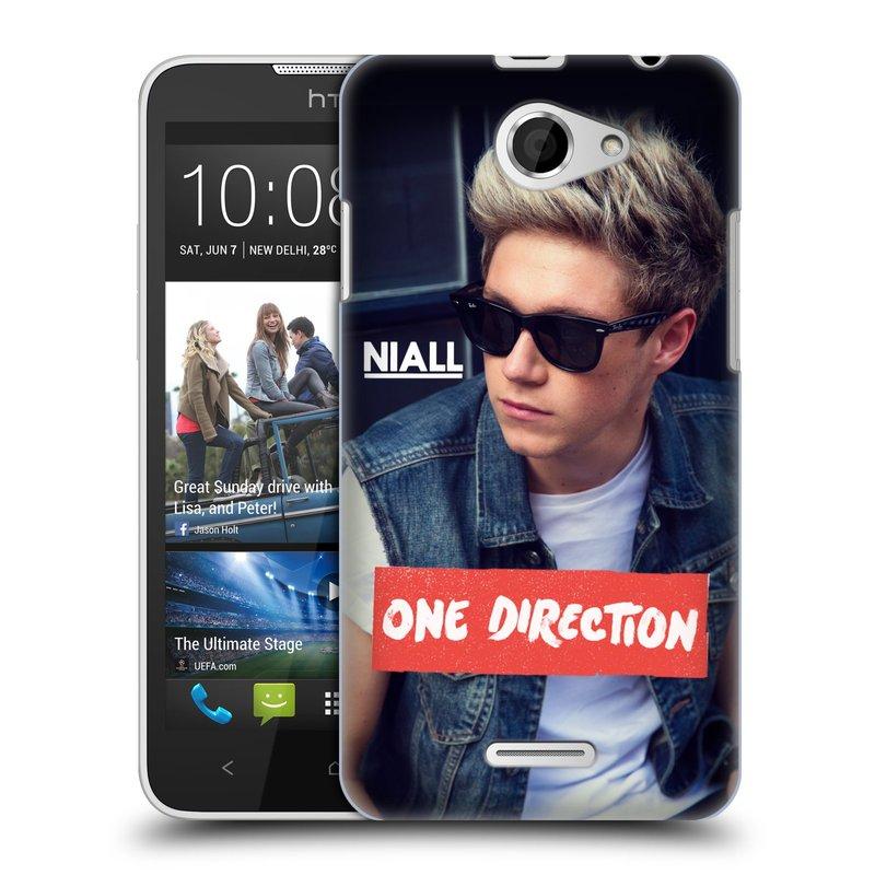 Plastové pouzdro na mobil HTC Desire 516 HEAD CASE One Direction - Niall (Kryt či obal One Direction Official na mobilní telefon HTC Desire 516 Dual SIM)