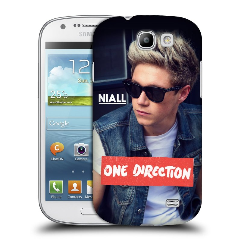 Plastové pouzdro na mobil Samsung Galaxy Express HEAD CASE One Direction - Niall (Kryt či obal One Direction Official na mobilní telefon Samsung Galaxy Express GT-i8730)