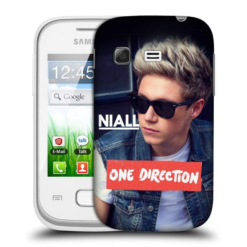 Plastové pouzdro na mobil Samsung Galaxy Pocket HEAD CASE One Direction - Niall (Kryt či obal One Direction Official na mobilní telefon Samsung Galaxy Pocket GT-S5300)
