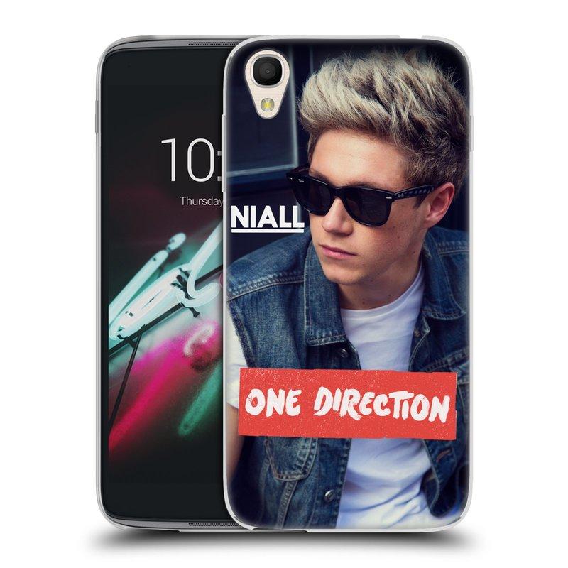 """Silikonové pouzdro na mobil Alcatel One Touch 6039Y Idol 3 HEAD CASE One Direction - Niall (Silikonový kryt či obal One Direction Official na mobilní telefon Alcatel One Touch Idol 3 OT-6039Y s 4,7"""" displejem)"""