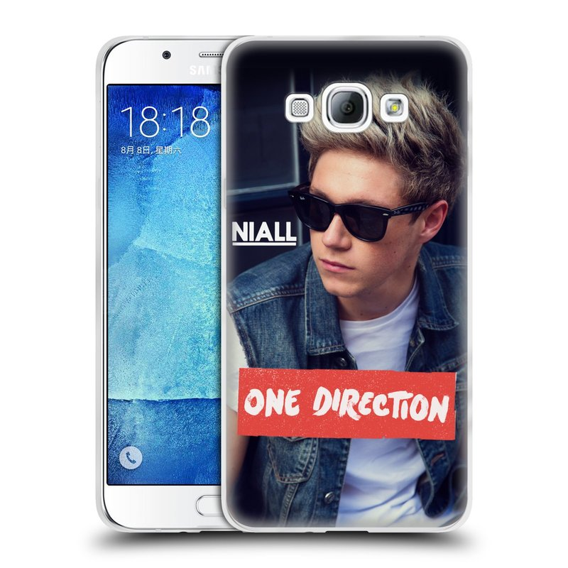 Silikonové pouzdro na mobil Samsung Galaxy A8 HEAD CASE One Direction - Niall (Silikonový kryt či obal One Direction Official na mobilní telefon Samsung Galaxy A8 SM-A800)