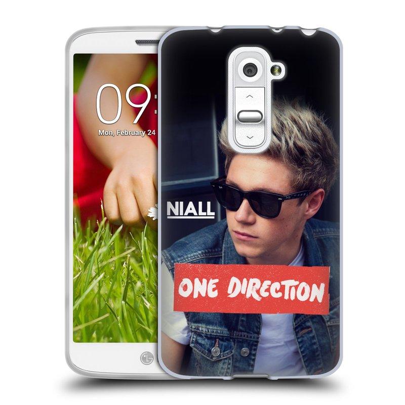 Silikonové pouzdro na mobil LG G2 Mini HEAD CASE One Direction - Niall (Silikonový kryt či obal One Direction Official na mobilní telefon LG G2 Mini D620)