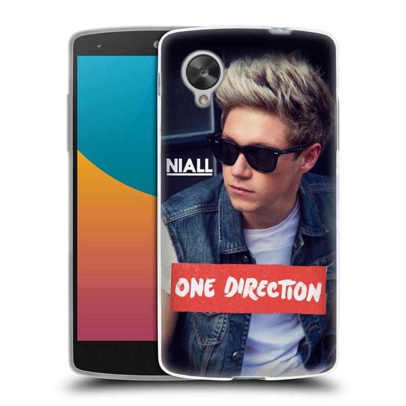 Silikonové pouzdro na mobil LG Nexus 5 HEAD CASE One Direction - Niall (Silikonový kryt či obal One Direction Official na mobilní telefon LG Google Nexus 5 D821)