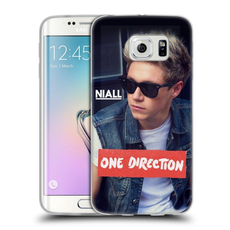 Silikonové pouzdro na mobil Samsung Galaxy S6 Edge HEAD CASE One Direction - Niall (Silikonový kryt či obal One Direction Official na mobilní telefon Samsung Galaxy S6 Edge SM-G925F)