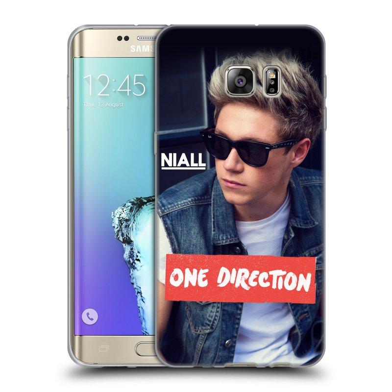 Silikonové pouzdro na mobil Samsung Galaxy S6 Edge Plus HEAD CASE One Direction - Niall (Silikonový kryt či obal One Direction Official na mobilní telefon Samsung Galaxy S6 Edge Plus SM-G928F)