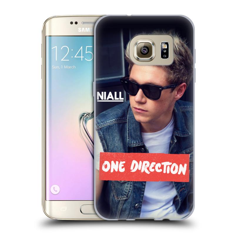 Silikonové pouzdro na mobil Samsung Galaxy S7 Edge HEAD CASE One Direction - Niall (Silikonový kryt či obal One Direction Official na mobilní telefon Samsung Galaxy S7 Edge SM-G935F)