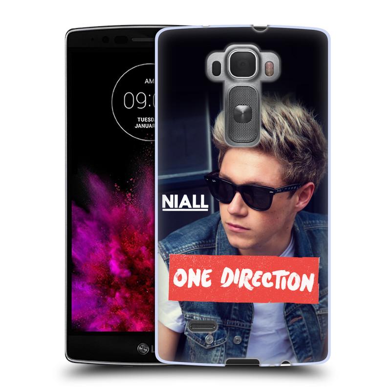 Silikonové pouzdro na mobil LG G Flex 2 HEAD CASE One Direction - Niall (Silikonový kryt či obal One Direction Official na mobilní telefon LG G Flex 2 H955)