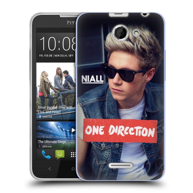 Silikonové pouzdro na mobil HTC Desire 516 HEAD CASE One Direction - Niall (Silikonový kryt či obal One Direction Official na mobilní telefon HTC Desire 516 Dual SIM)