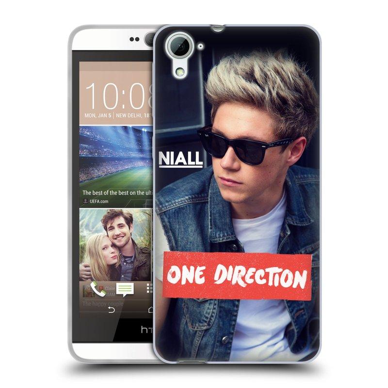 Silikonové pouzdro na mobil HTC Desire 826 HEAD CASE One Direction - Niall (Silikonový kryt či obal One Direction Official na mobilní telefon HTC Desire 826 Dual SIM)