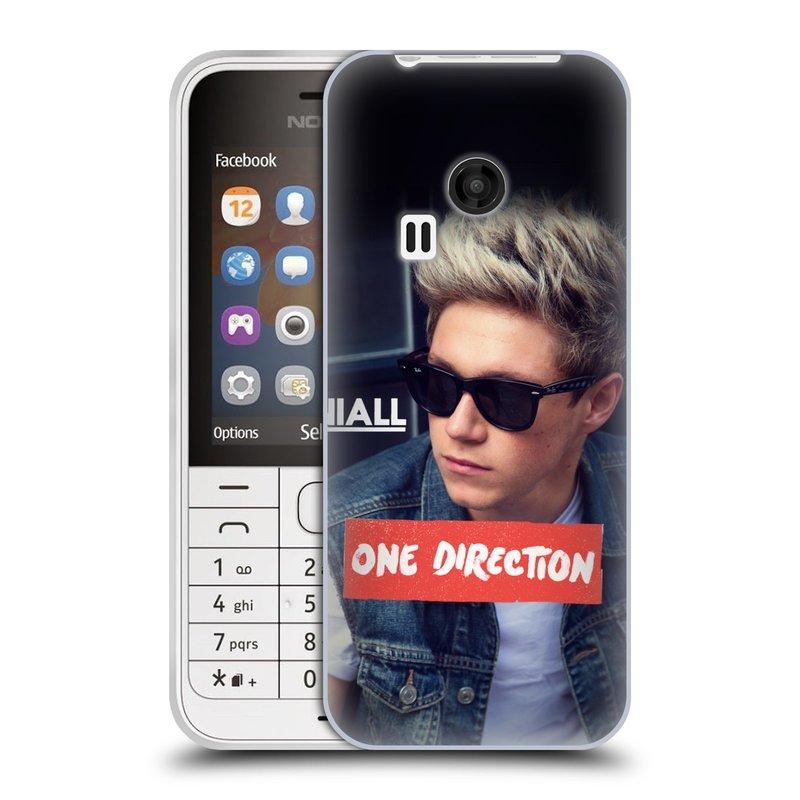 Silikonové pouzdro na mobil Nokia 220 HEAD CASE One Direction - Niall (Silikonový kryt či obal One Direction Official na mobilní telefon Nokia 220 a 220 Dual SIM)