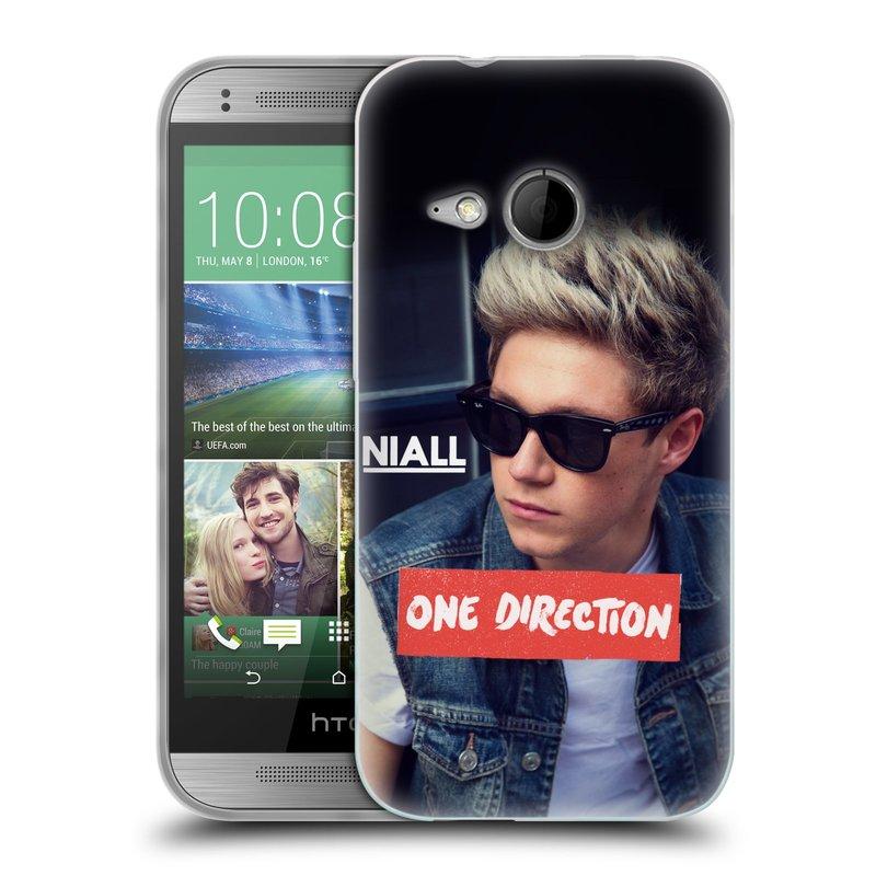 Silikonové pouzdro na mobil HTC ONE Mini 2 HEAD CASE One Direction - Niall (Silikonový kryt či obal One Direction Official na mobilní telefon HTC ONE Mini 2)
