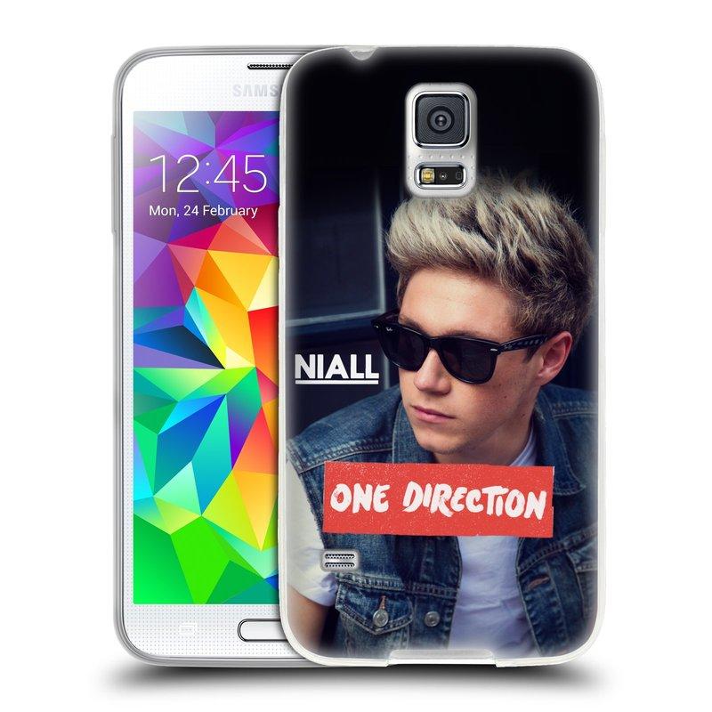 Silikonové pouzdro na mobil Samsung Galaxy S5 HEAD CASE One Direction - Niall (Silikonový kryt či obal One Direction Official na mobilní telefon Samsung Galaxy S5 SM-G900F)