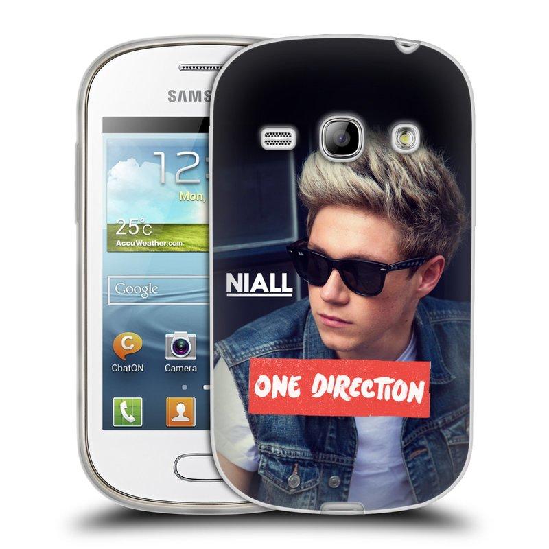Silikonové pouzdro na mobil Samsung Galaxy Fame HEAD CASE One Direction - Niall (Silikonový kryt či obal One Direction Official na mobilní telefon Samsung Galaxy Fame GT-S6810)