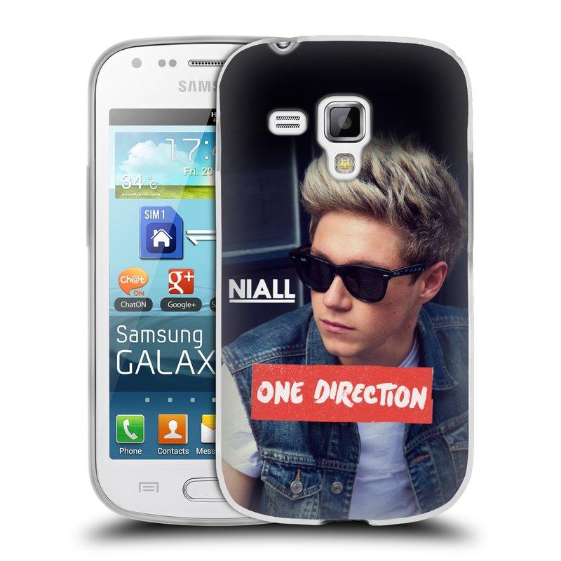 Silikonové pouzdro na mobil Samsung Galaxy Trend HEAD CASE One Direction - Niall (Silikonový kryt či obal One Direction Official na mobilní telefon Samsung Galaxy Trend GT-S7560)