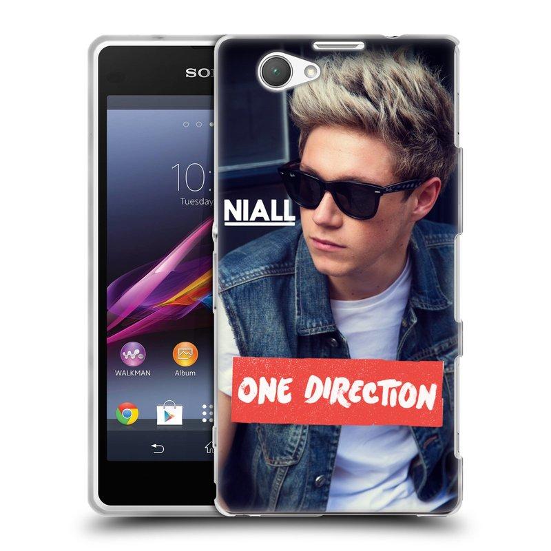 Silikonové pouzdro na mobil Sony Xperia Z1 Compact D5503 HEAD CASE One Direction - Niall (Silikonový kryt či obal One Direction Official na mobilní telefon Sony Xperia Z1 Compact)
