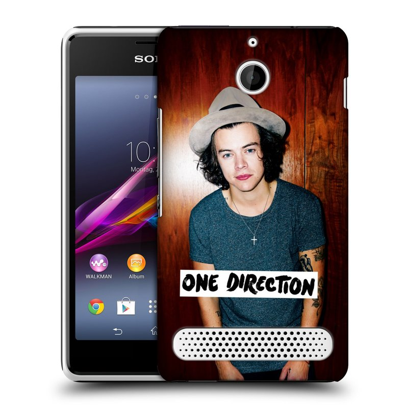 Plastové pouzdro na mobil Sony Xperia E1 D2005 HEAD CASE One Direction - Harry (Kryt či obal One Direction Official na mobilní telefon Sony Xperia E1 a E1 Dual)