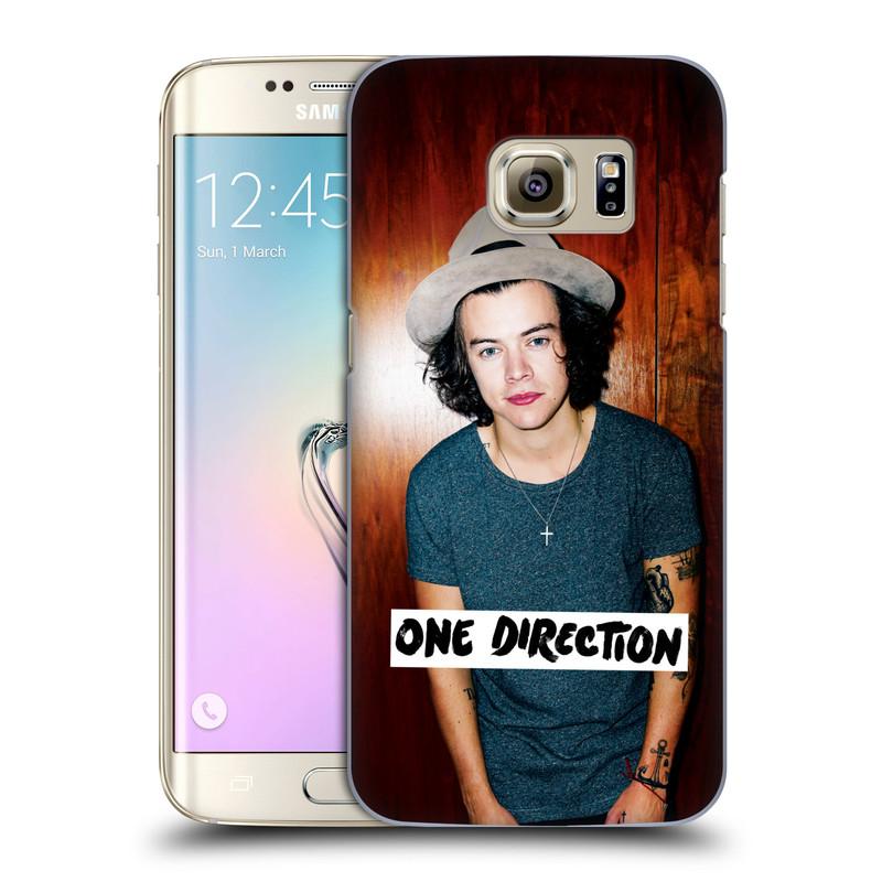 Plastové pouzdro na mobil Samsung Galaxy S7 Edge HEAD CASE One Direction - Harry (Kryt či obal One Direction Official na mobilní telefon Samsung Galaxy S7 Edge SM-G935F)