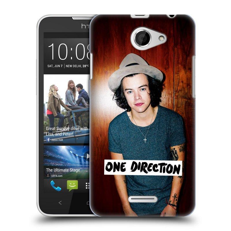 Plastové pouzdro na mobil HTC Desire 516 HEAD CASE One Direction - Harry (Kryt či obal One Direction Official na mobilní telefon HTC Desire 516 Dual SIM)