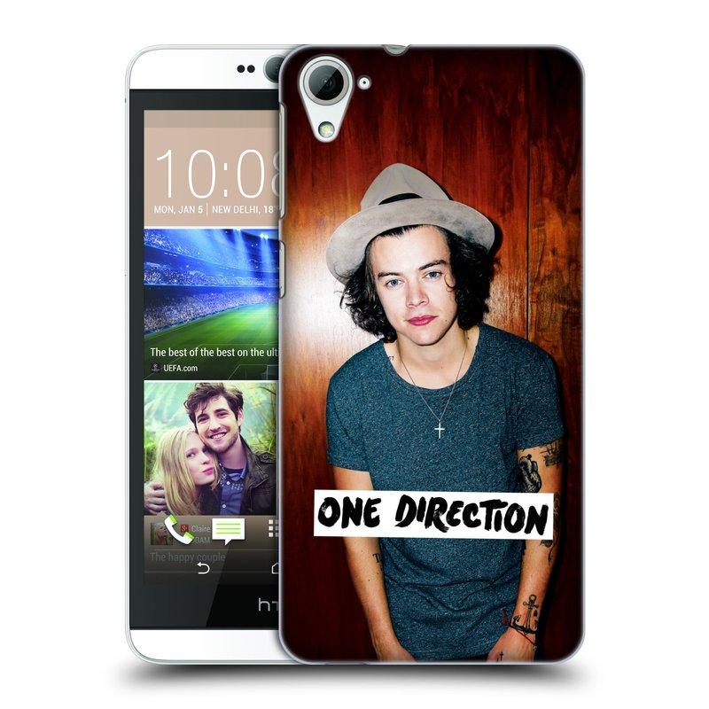 Plastové pouzdro na mobil HTC Desire 826 HEAD CASE One Direction - Harry (Kryt či obal One Direction Official na mobilní telefon HTC Desire 826 Dual SIM)