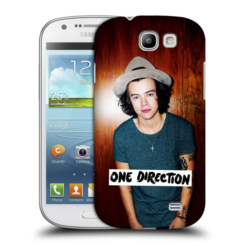 Plastové pouzdro na mobil Samsung Galaxy Express HEAD CASE One Direction - Harry (Kryt či obal One Direction Official na mobilní telefon Samsung Galaxy Express GT-i8730)