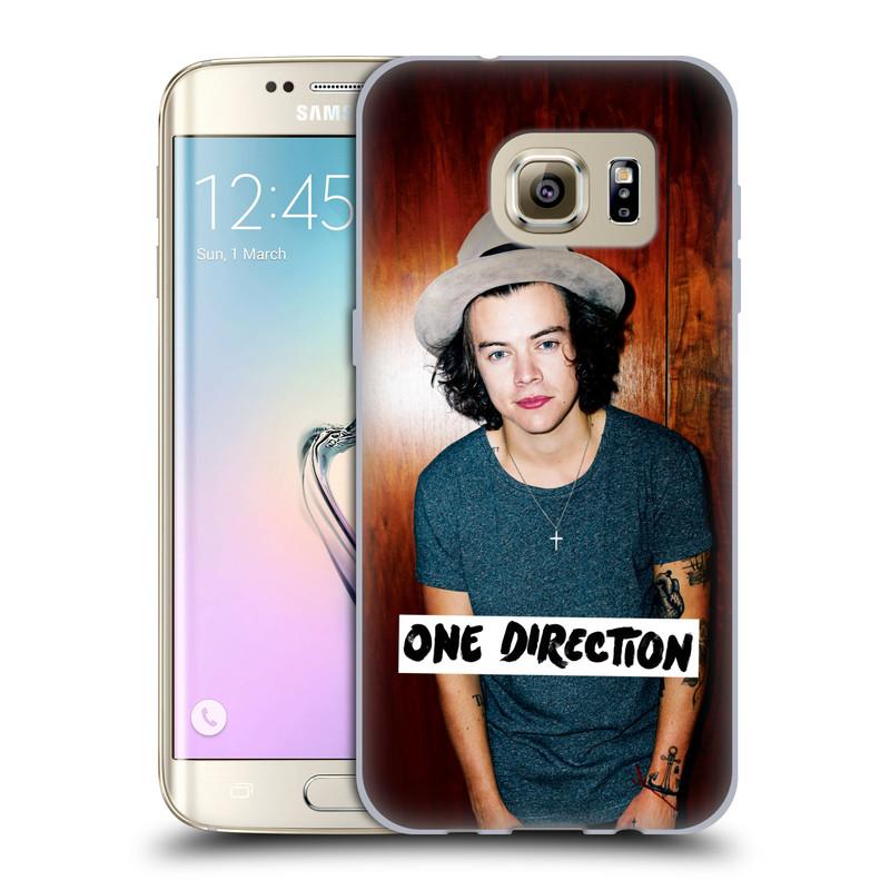 Silikonové pouzdro na mobil Samsung Galaxy S7 Edge HEAD CASE One Direction - Harry (Silikonový kryt či obal One Direction Official na mobilní telefon Samsung Galaxy S7 Edge SM-G935F)