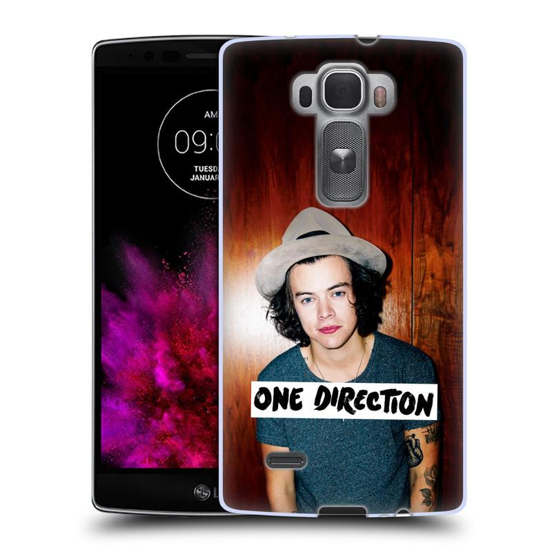 Silikonové pouzdro na mobil LG G Flex 2 HEAD CASE One Direction - Harry (Silikonový kryt či obal One Direction Official na mobilní telefon LG G Flex 2 H955)
