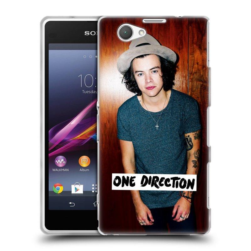 Silikonové pouzdro na mobil Sony Xperia Z1 Compact D5503 HEAD CASE One Direction - Harry (Silikonový kryt či obal One Direction Official na mobilní telefon Sony Xperia Z1 Compact)