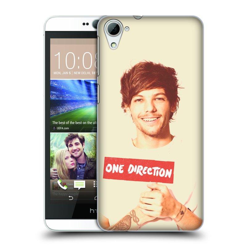 Plastové pouzdro na mobil HTC Desire 826 HEAD CASE One Direction - Louis (Kryt či obal One Direction Official na mobilní telefon HTC Desire 826 Dual SIM)