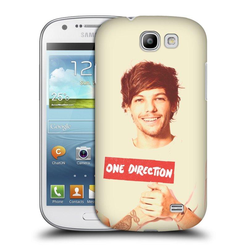 Plastové pouzdro na mobil Samsung Galaxy Express HEAD CASE One Direction - Louis (Kryt či obal One Direction Official na mobilní telefon Samsung Galaxy Express GT-i8730)