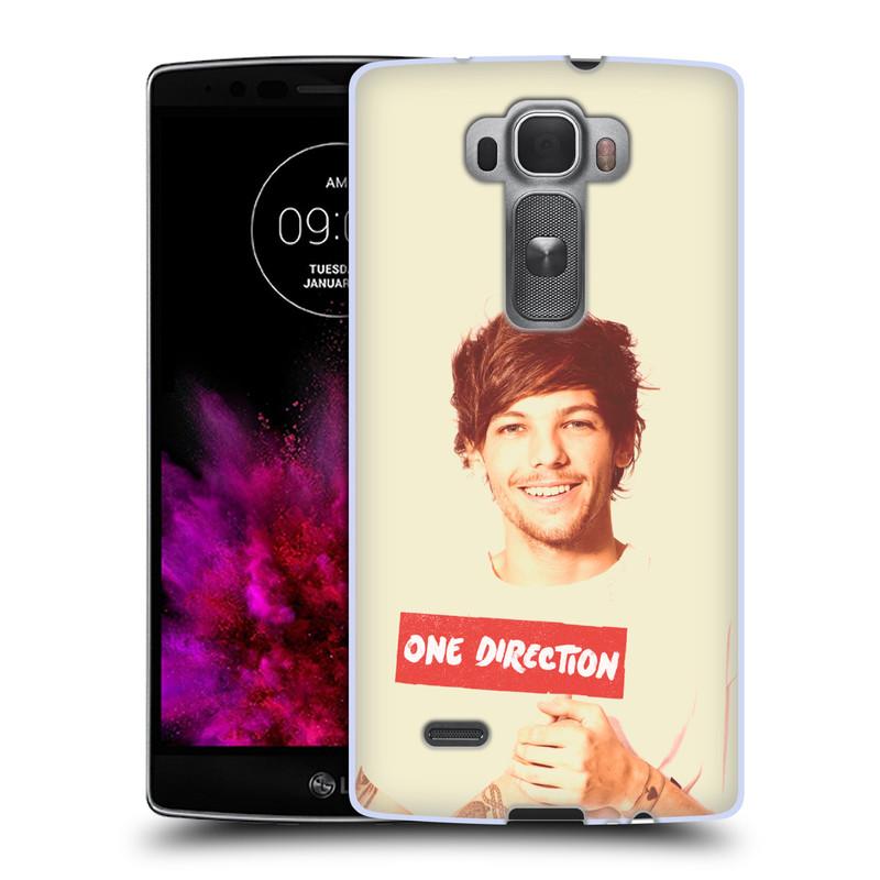 Silikonové pouzdro na mobil LG G Flex 2 HEAD CASE One Direction - Louis (Silikonový kryt či obal One Direction Official na mobilní telefon LG G Flex 2 H955)