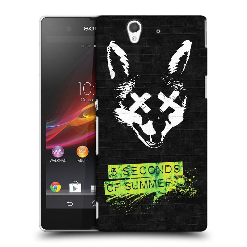 Plastové pouzdro na mobil Sony Xperia Z C6603 HEAD CASE 5 Seconds of Summer - Fox (Plastový kryt či obal na mobilní telefon licencovaným motivem 5 Seconds of Summer pro Sony Xperia Z)