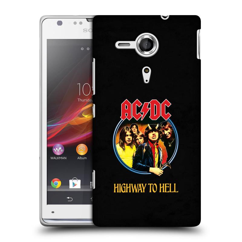 Plastové pouzdro na mobil Sony Xperia SP C5303 HEAD CASE AC/DC Highway to Hell (Plastový kryt či obal na mobilní telefon s oficiálním motivem australské skupiny AC/DC pro Sony Xperia SP)