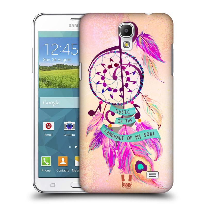 Plastové pouzdro na mobil Samsung Galaxy Grand Mega 2 HEAD CASE Lapač Assorted Music (Kryt či obal na mobilní telefon Samsung Galaxy Grand Mega 2 SM-G750)