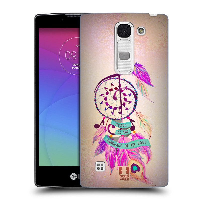 Plastové pouzdro na mobil LG Spirit LTE HEAD CASE Lapač Assorted Music (Kryt či obal na mobilní telefon LG Spirit H420 a LG Spirit LTE H440N)