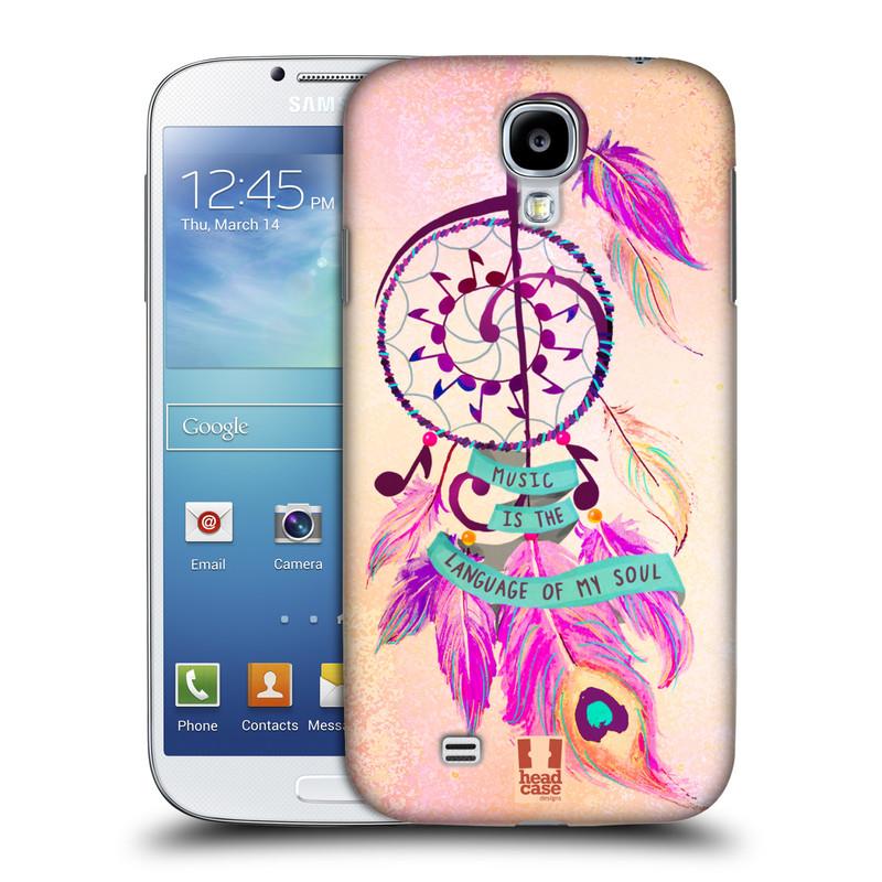 Plastové pouzdro na mobil Samsung Galaxy S4 HEAD CASE Lapač Assorted Music (Kryt či obal na mobilní telefon Samsung Galaxy S4 GT-i9505 / i9500)