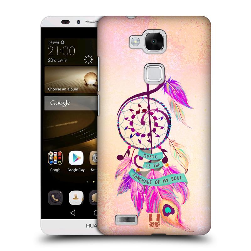 Plastové pouzdro na mobil Huawei Ascend Mate 7 HEAD CASE Lapač Assorted Music (Kryt či obal na mobilní telefon Huawei Ascend Mate7)