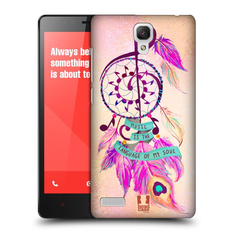 Plastové pouzdro na mobil Xiaomi Redmi Note LTE HEAD CASE Lapač Assorted Music (Kryt či obal na mobilní telefon Xiaomi Redmi Note LTE (4G) s 5,5'' displejem)