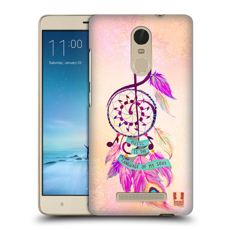 "Plastové pouzdro na mobil Xiaomi Redmi Note 3 HEAD CASE Lapač Assorted Music (Kryt či obal na mobilní telefon Xiaomi Redmi Note 3 s 5,5"" displejem)"