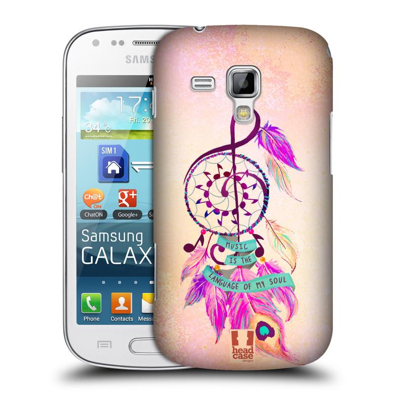 Plastové pouzdro na mobil Samsung Galaxy Trend HEAD CASE Lapač Assorted Music (Kryt či obal na mobilní telefon Samsung Galaxy Trend GT-S7560)